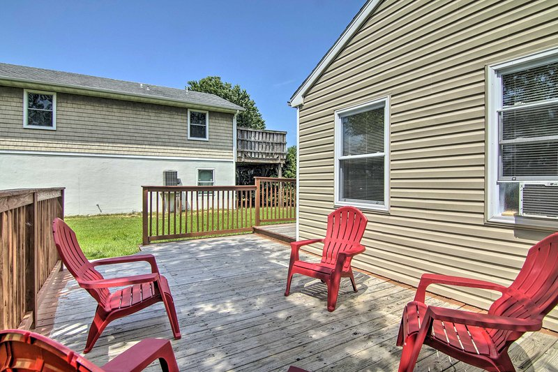 Enjoy the salty breeze at this Ocean City vacation rental home!