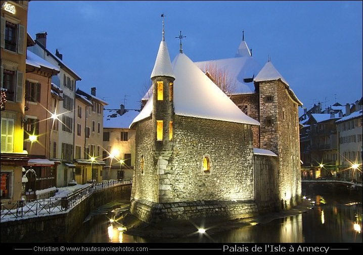 Annecy, it's beautiful too winter
