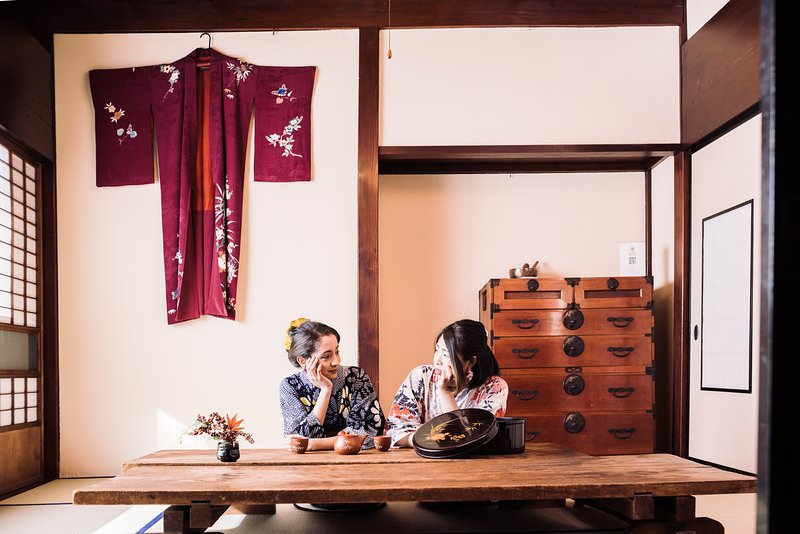 *Samurai's house*for only one group a day*Free Wi-Fi*quaint house*, holiday rental in Hokuriku