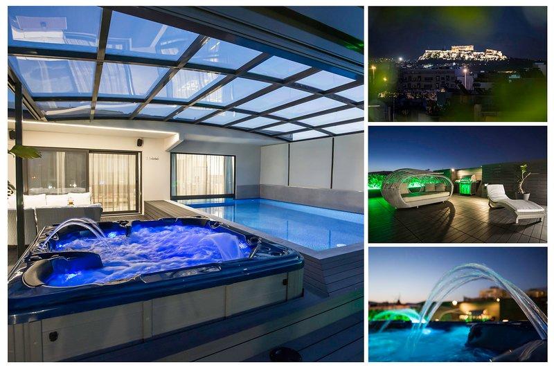 Zambelis Athens Penthouse Spa, holiday rental in Athens