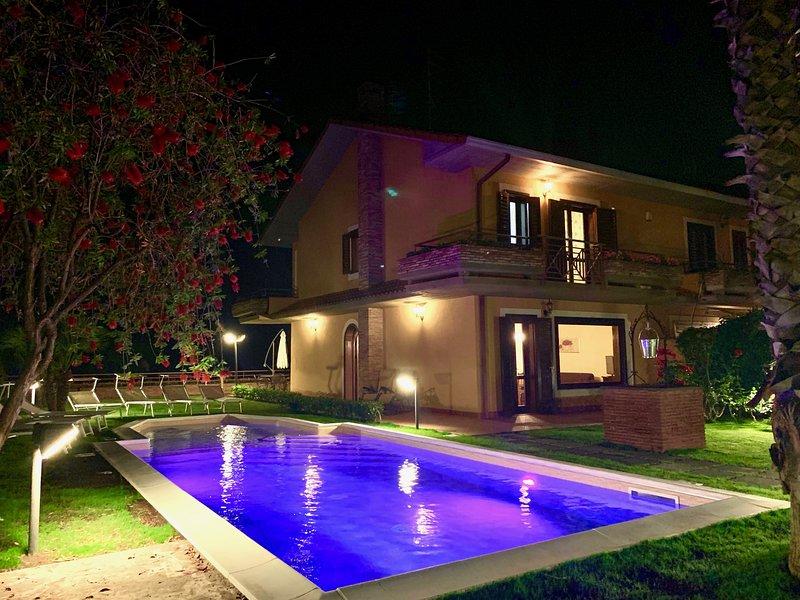 Etna Villa Alba Chiara, holiday rental in Trecastagni