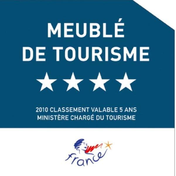 Classé 4 * et inspecté par l'autorité touristique française