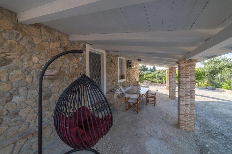 Binios Villa, vacation rental in Ano Vasilikos