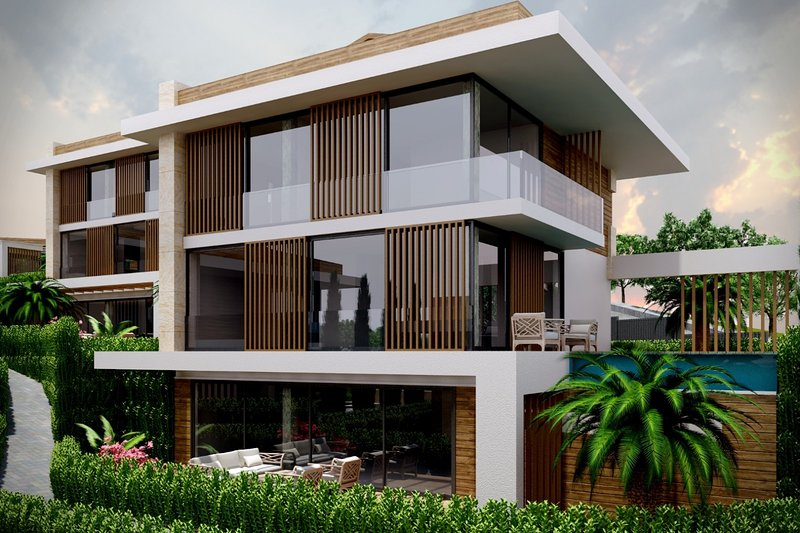 Royal Blue Villas are designed accordingly to the needs of large families with 4 en-suite bedrooms,