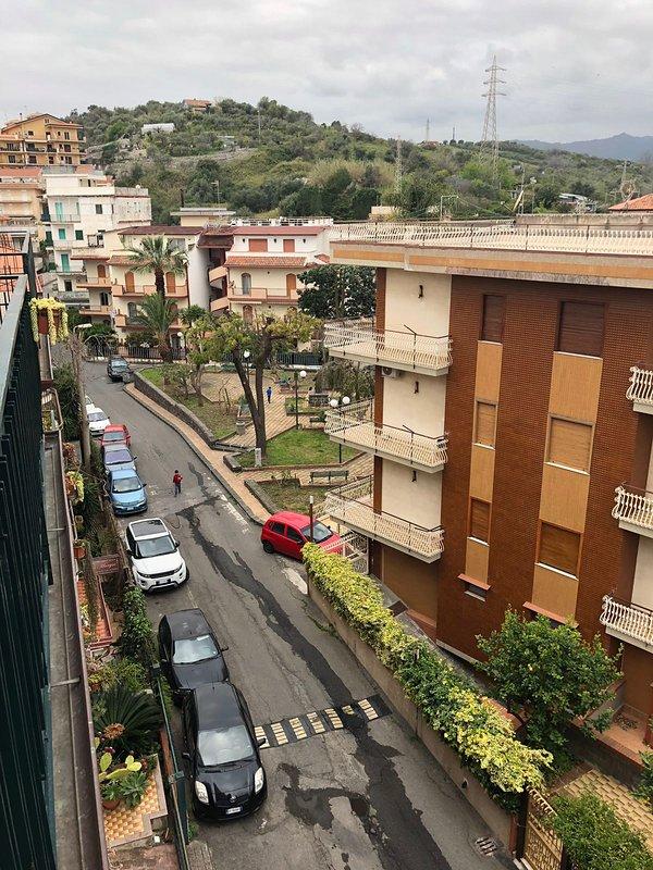 Balcon côté Etna