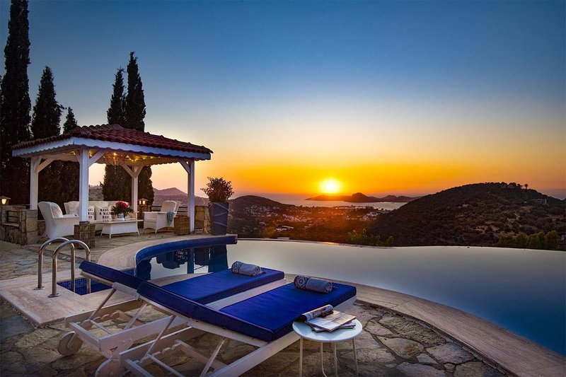 Exclusive Villa Secured Privacy Secluded with Private Pool & Garden, vacation rental in Yalikavak