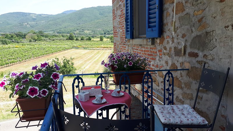 Nice house with balcony, holiday rental in San Giustino Valdarno