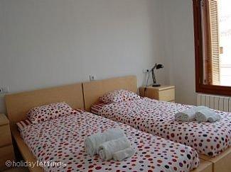 una de las habitaciones dobles