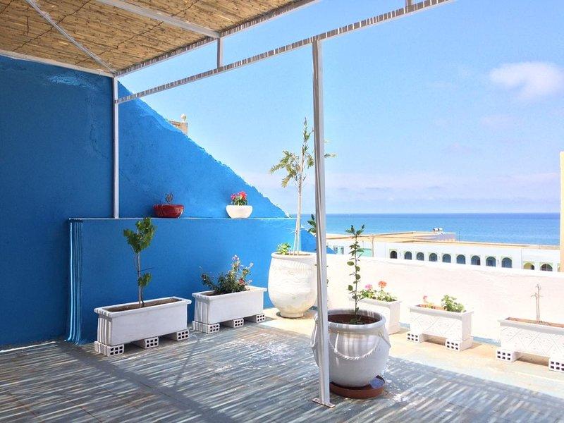 Maison Familliale en Mediterrannée, location de vacances à Chefchaouen