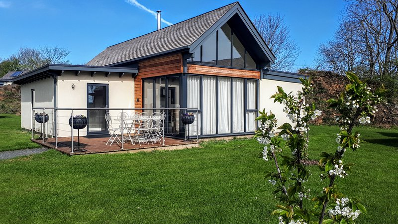 Luxe Eco Lodge in Bamburgh
