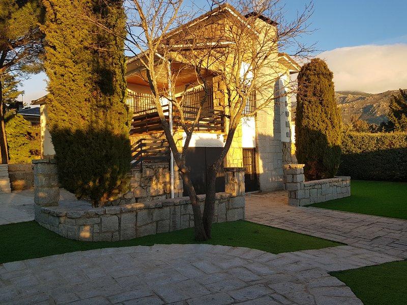M (PON351) CHALET SIERRA GUADARRAMA - LA PONDEROSA, alquiler vacacional en Manzanares el Real