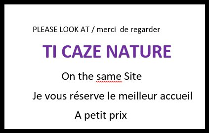 Nice bungalow with garden & terrace, holiday rental in Etang-Sale les Hauts