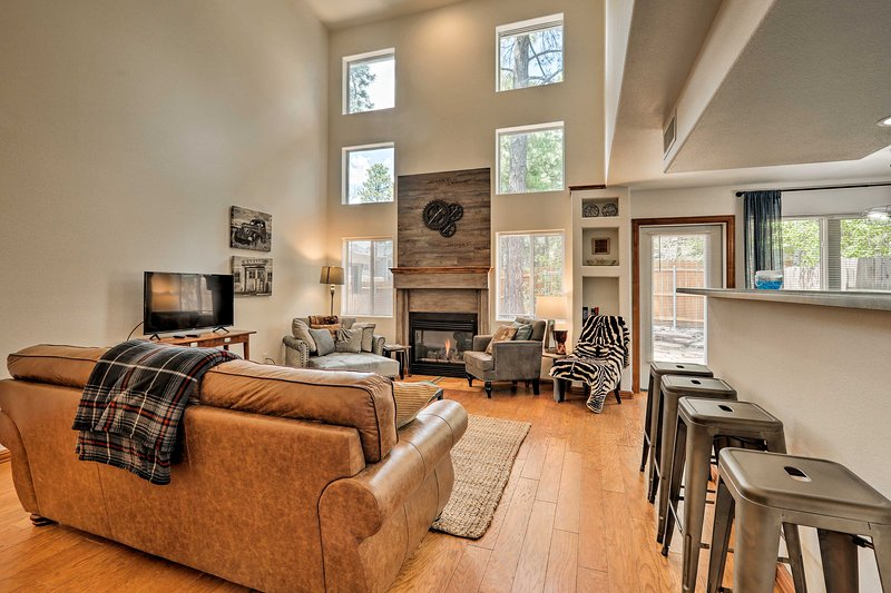 The 3-bedroom, 2.5-bath home is less than 1 mile to the NAU campus!