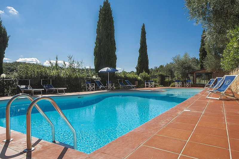Casa Rosacea E, holiday rental in Montaione