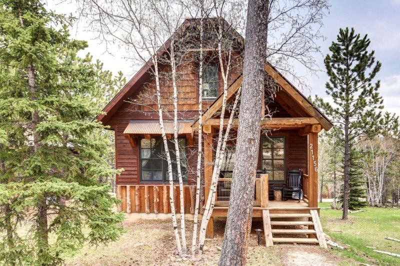 Iron Horse Cabin, holiday rental in Lead