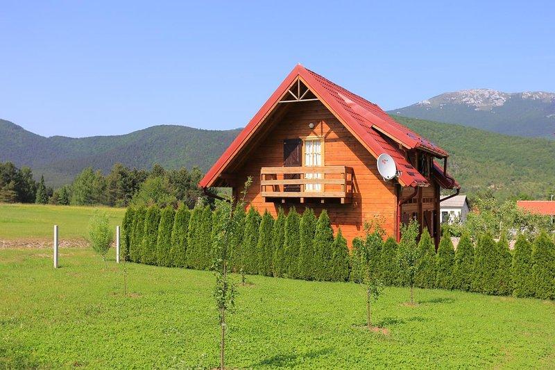 Three bedroom house Vranovača, Plitvice (K-17508), vacation rental in Vrelo Korenicko