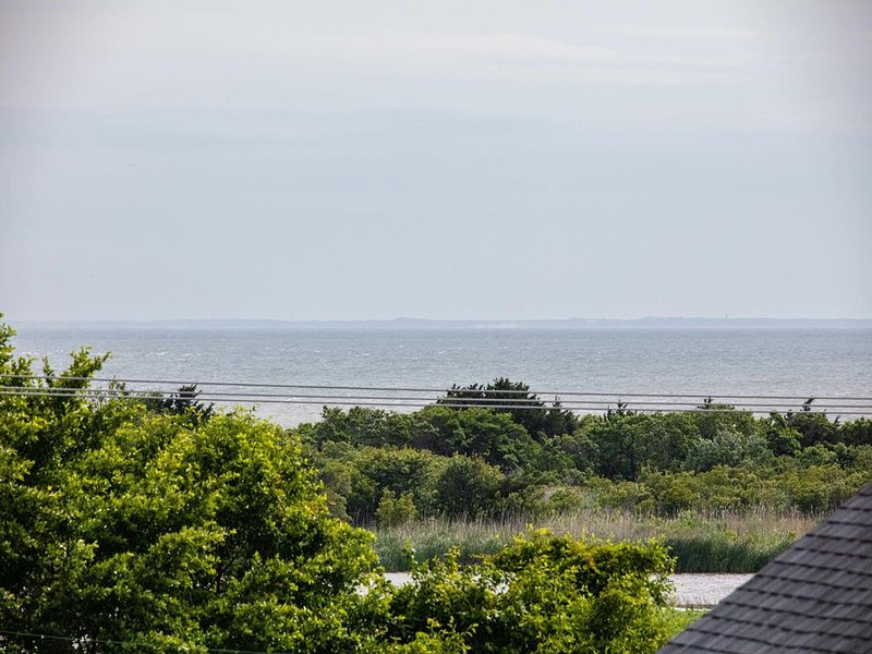 Roof Top Deck Views of Ocean - The Cove to Cape May Point