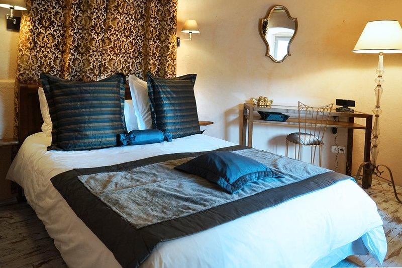 Gite de charme en Aveyron Chambre ambiance cocoon