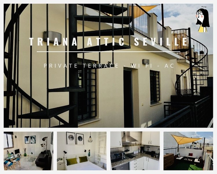 ÁTICO TRIANA -SEVILLA-, holiday rental in Valencina de la Concepcion
