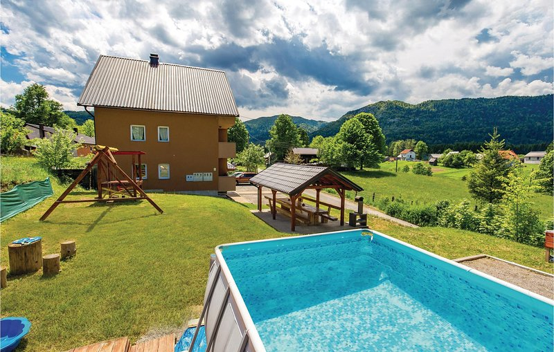 Nice home in Ogulin with WiFi and 1 Bedrooms (CCC019), vacation rental in Ogulin