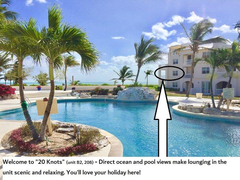 Ocean Front Condo, 2 bed 2 Bath, alquiler de vacaciones en Leeward