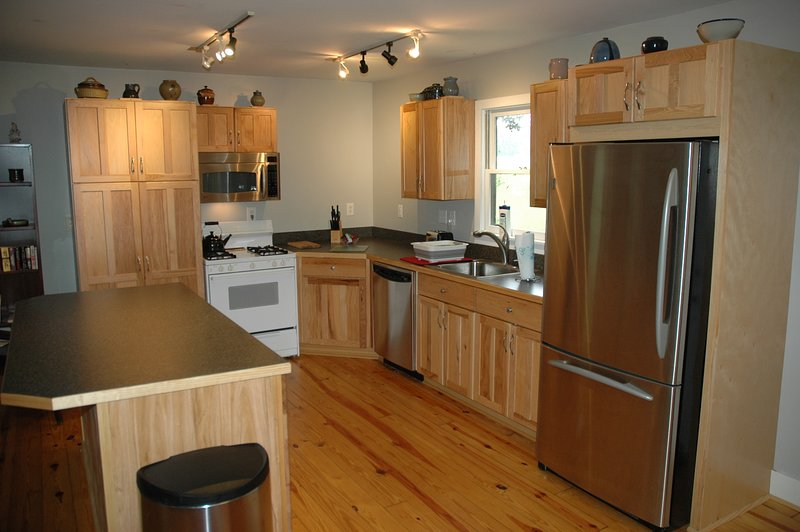 Recently renovated kitchen that is fully furnished
