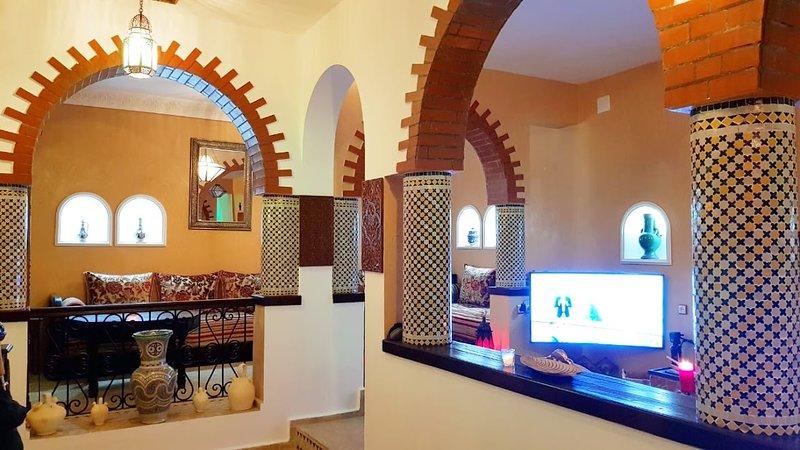 Morrocan house in old medina of Asilah, alquiler de vacaciones en Arcila
