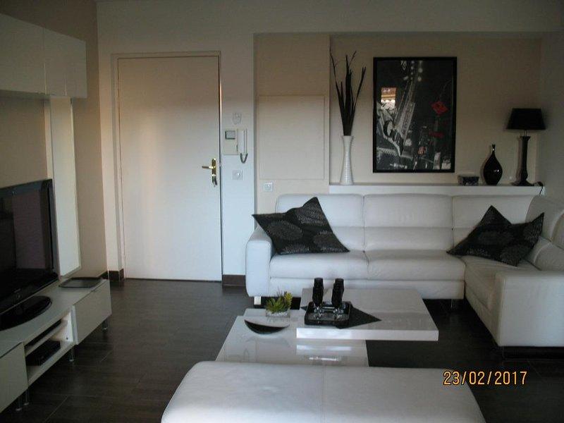 Appt 40 m2 au coeur de la ville pour tout faire à pied, vacation rental in Ile de Bendor
