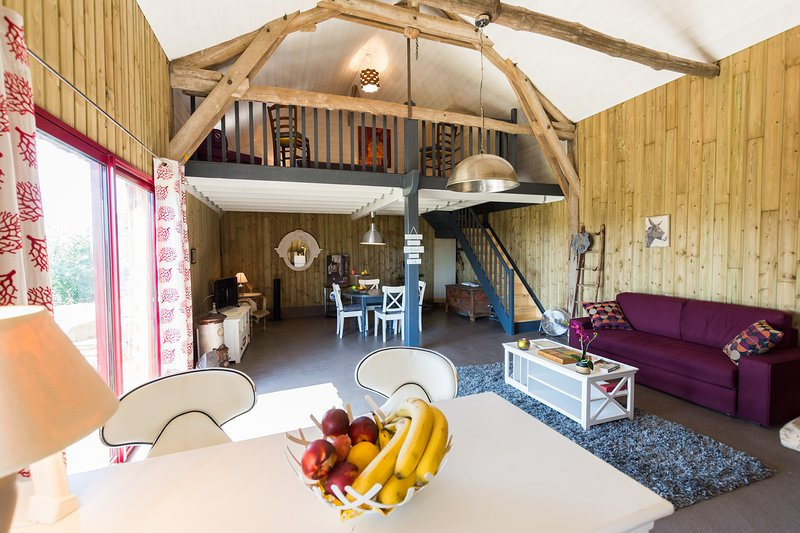 Nice house with garden & terrace, holiday rental in Couture-sur-Loir