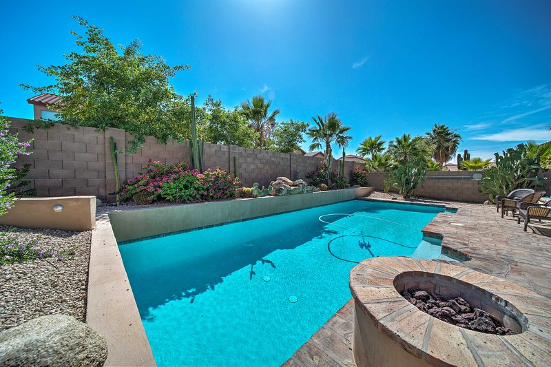 Spend your Valley of the Sun getaway at this charming property with a pool!