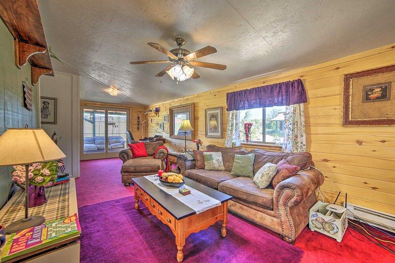 Cozy Blanding Cottage Near Town & State Parks, aluguéis de temporada em Blanding