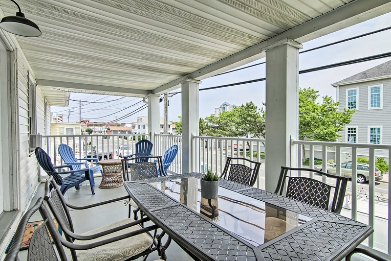 Escape to Ocean City at this lovely vacation rental condo.