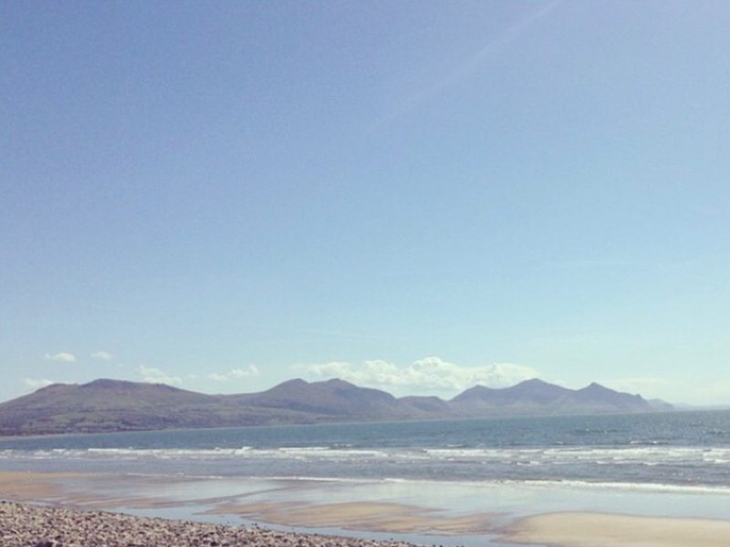 Vista sulla spiaggia
