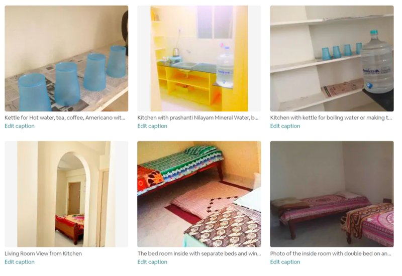 4 bed Full Home & Kitchen - Puttaparthi Sai Ashram 2 min, holiday rental in Puttaparthi