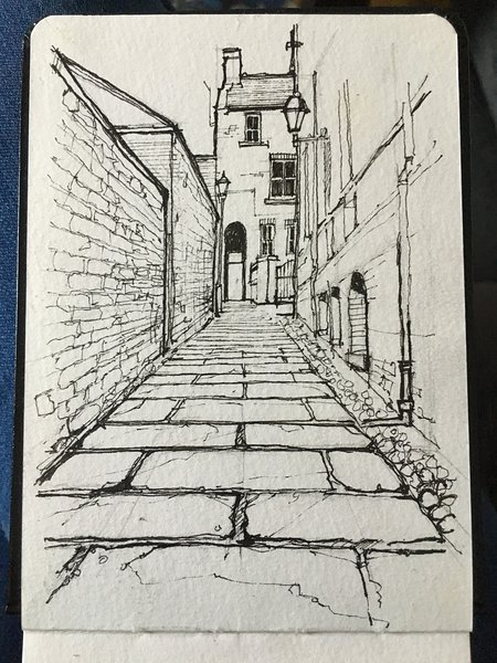 Ginnel in Bedale by local artist