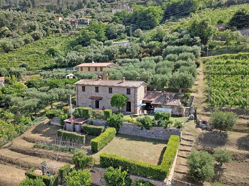 La Casa Di Pietra, holiday rental in Ripa-Pozzi-Querceta-Ponterosso
