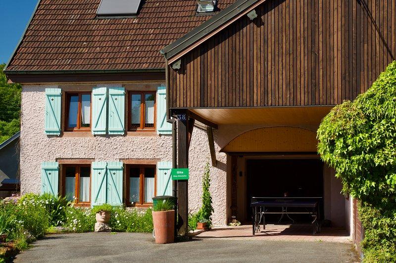 Chez Dimanche, F2 meublé city break*** Essert (Belfort), holiday rental in Ronchamp