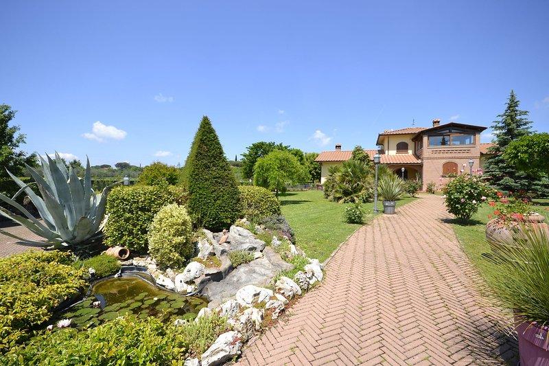 Villa Solidea, vacation rental in Borghetto