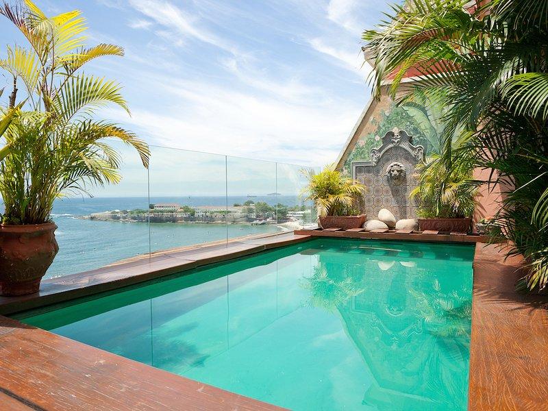 Tropical 3 Bedroom Penthouse With Pool - W01.44, alquiler de vacaciones en Río de Janeiro