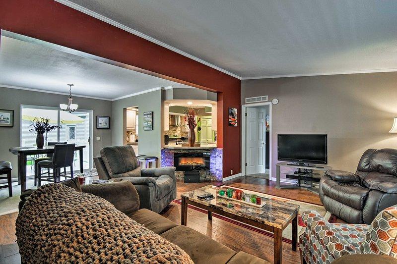 Vacation awaits near the shore of Lake Huron at this 3-bed, 2-bath home!