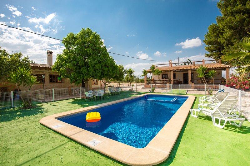Fidalsa Feel at home, holiday rental in Hondon de los Frailes