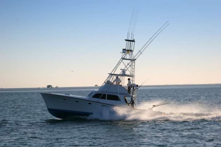Charter a full or half day deep sea fishing!