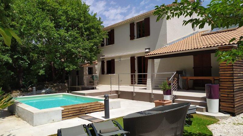 Belle villa dans un hâvre de paix, location de vacances à Puget-Ville