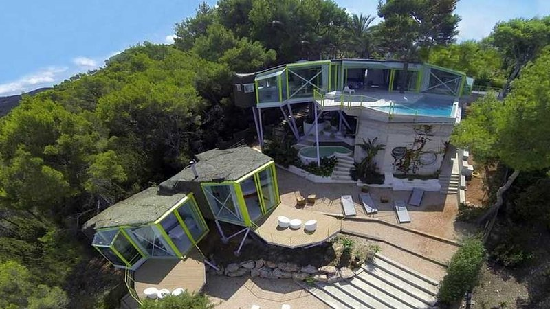 Cala Vadella Villa Sleeps 8 with Pool Air Con and WiFi - 5805505, holiday rental in Cala Carbo