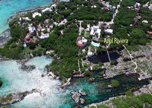 Azul Riviera Akumal  map
