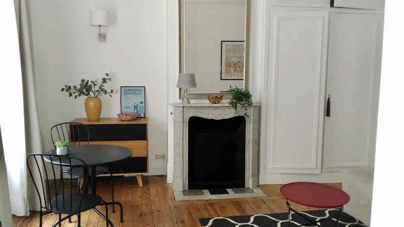 Studio des Bains au coeur de Trouville!, vacation rental in Tourgeville