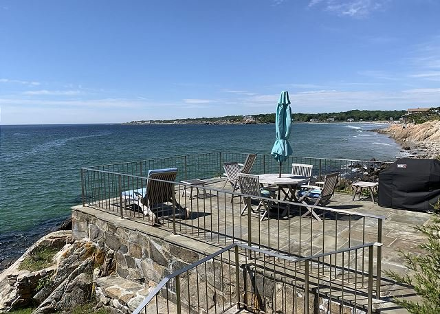You can see Good Harbor Beach from the rear patio.