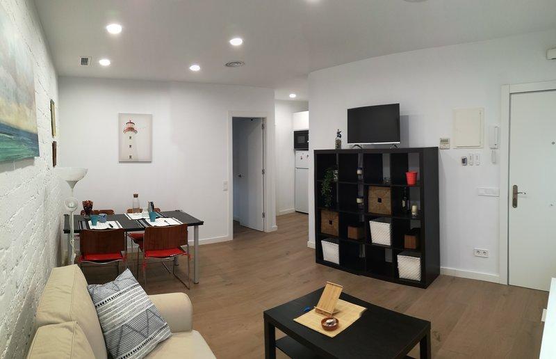 Apartamento de 1 habitación a 20min en Metro de Sagrada Familia y a 10 min playa, alquiler vacacional en Santa Coloma de Gramanet