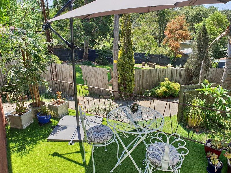 Hermosa área de patio
