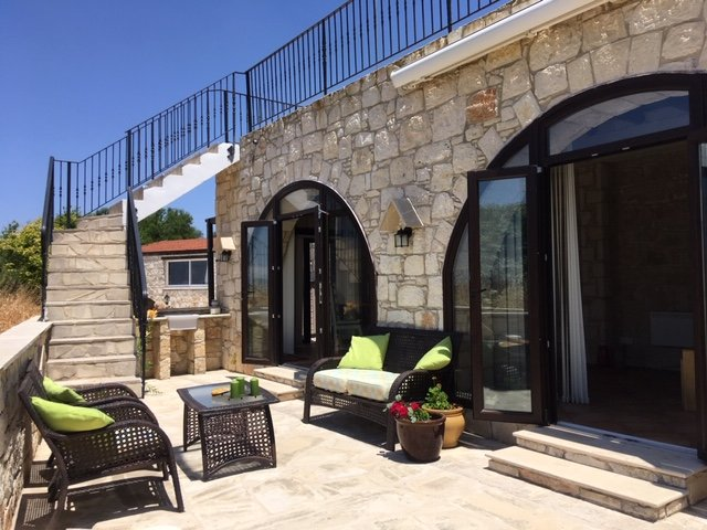 Your mini villa at Paphos in the countryside, a finca in Cyprus, not a bit typical touristy